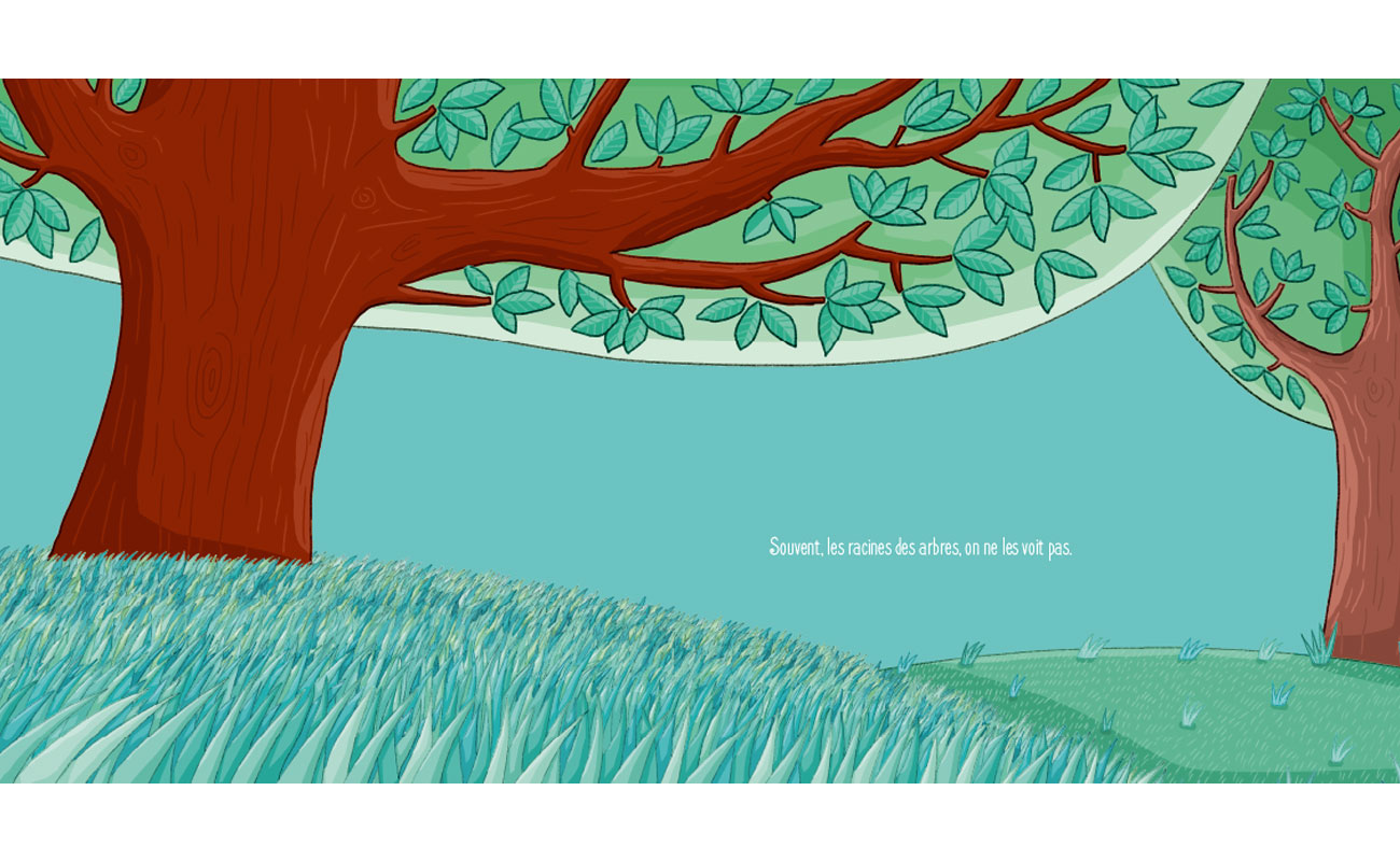 Où vont les racines des arbres ?